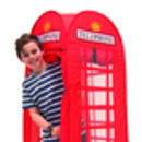 Telephone Box Pop Up Play Tent