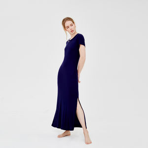 Glamous Long Nightdress In Supersoft Fabric - women's fashion