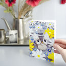 Gentleman Owl Greeting Card