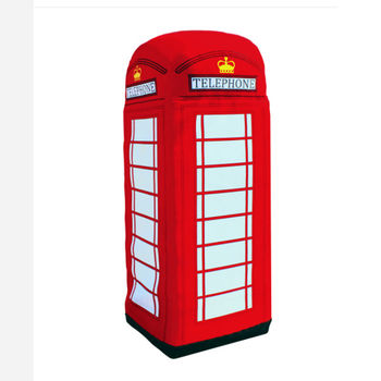 Giant Telephone Box Plush 2m Tall
