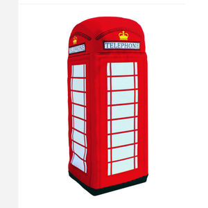 Giant Telephone Box Plush 2m Tall - baby's room