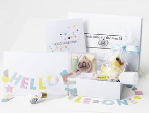 New Baby/ Baby Shower Gift Box - chocolates & confectionery