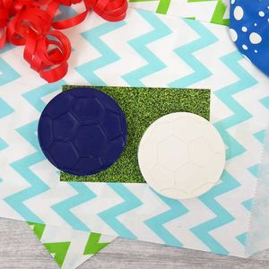 Football Themed Crayon Party Favour