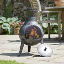 Garden Steel Chiminea