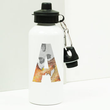 Personalised Fantasy Initial Water Bottle