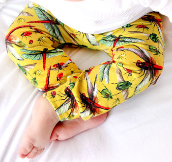 Limited Edition Dragonfly Child And Baby Leggings