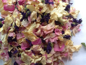 Biodegradable Petal Or Wild Flowers Wedding Confetti - confetti, petals & sparklers