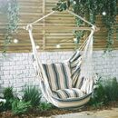 Striped Hanging Chair