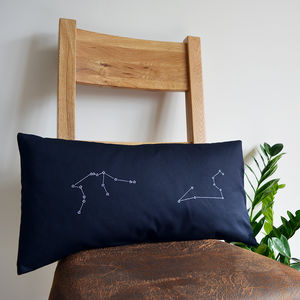 Star Constellations Personalised Cushion Cover - personalised cushions