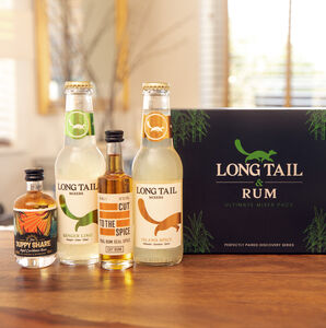 Rum And Mixer Ultimate Gift Box