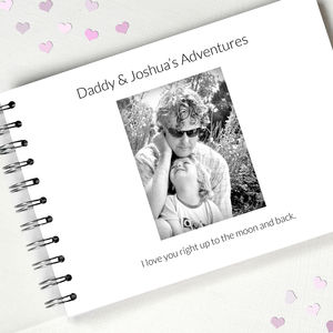 Personalised Dad Album - for new dads