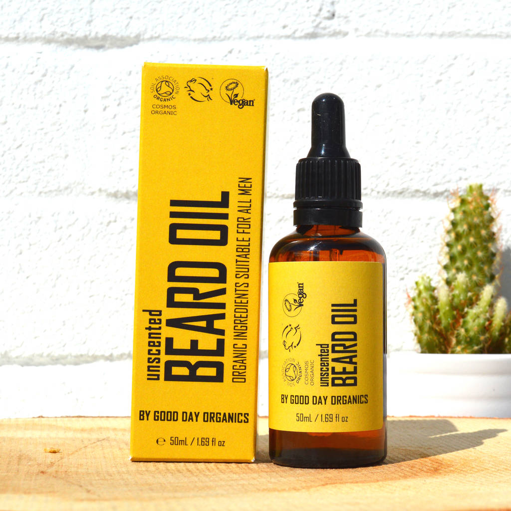 unscented beard oil organic and vegan by good day organics. Black Bedroom Furniture Sets. Home Design Ideas