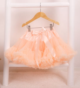 Peach Melba Pettiskirt - fancy dress