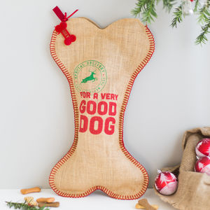 Personalised Dog Christmas Stocking - stockings & sacks