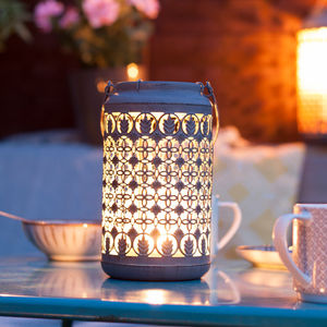 Venice Patterned Lantern - lights & lanterns