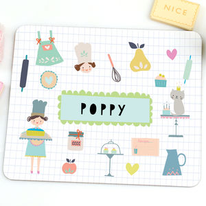 Children's Placemat 'Cute Cake' - more