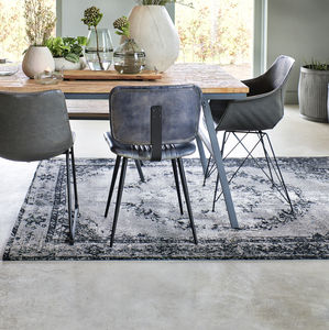 Persepolis Rug In Grey, Wood Brown Or Black - rugs & doormats