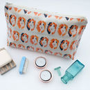 Guinea Pig Oil Cloth Wash Bags
