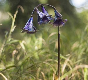 Bluebell Handmade Recycled Metal Garden Sculpture - gifts for her