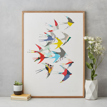 Swallows Fine Art Print