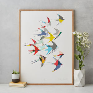 Swallows Fine Art Print - limited edition art