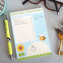 Busy Bee Organiser Notepad