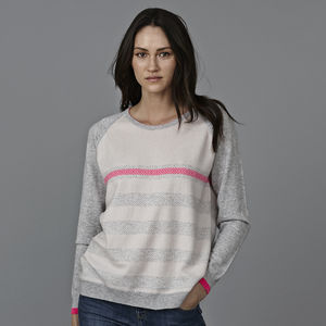 Jax Cashmere Jacquard Jumper - fashion sale