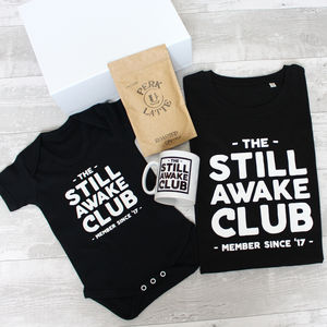 'Still Awake Club' New Parent Survival Gift Set