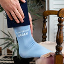 Personalised 'Team Groom' Wedding Socks