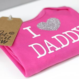 Personalised 'I Love' Romper - gifts for babies & children