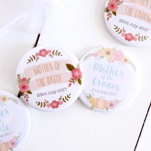 Mother Of The Bride And Groom Pocket Mirrors - compact mirrors