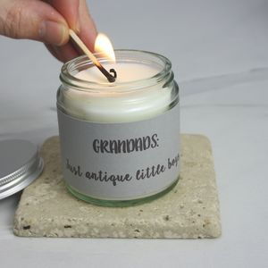 Grandad Organic Scented Candle