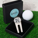 Personalised Name And Initial Golf Divot Tool