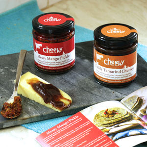 Food Gift For Granddad Spicy Chutneys - gifts for grandparents