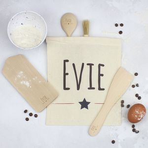 Personalised Kids Star Baker Set - kitchen accessories