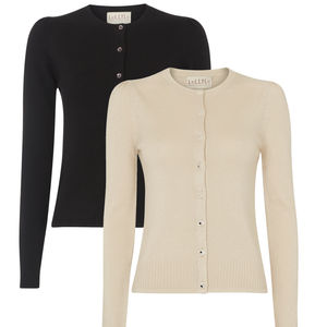 Covetable Cashmere And Silk Lux Cardigan - winter sale