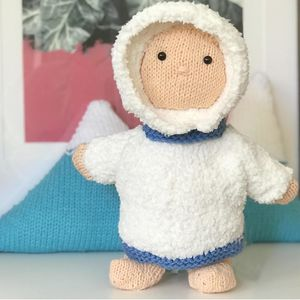 Eskimo Christmas Knitting Kit
