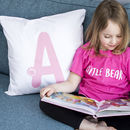 Children's Personalised Alphabet Cushion