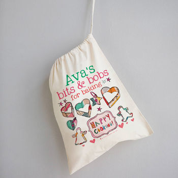 Personalised Baking Storage Bag