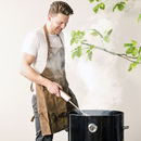 Personalisable Buffalo Leather Apron