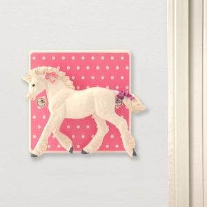 Unicorn Bedroom Light Switch - children's lighting