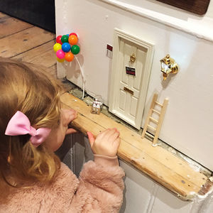 Magic Fairy Door With Ladder, Mat And Shoes - gifts for children