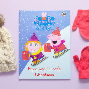 Personalised Peppa Pig Book: Peppa Christmas - books