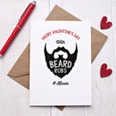 Valentine's Day Beard Rub Card
