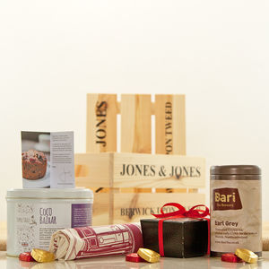 Bari Brewery Earl Grey Tea And Cake Hamper - hampers