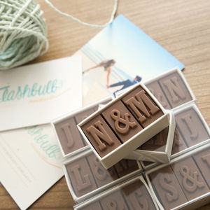 Personalised Chocolate Wedding Favours - cakes & treats