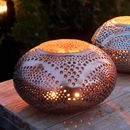 Copper Oval Marrakech Style Lantern