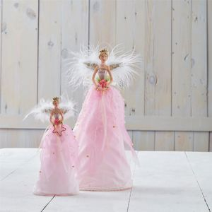 Pink Fairy Christmas Tree Topper - tree toppers