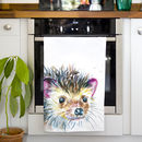 Inky Hedgehog Tea Towel