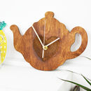 Teapot Kitchen Clock